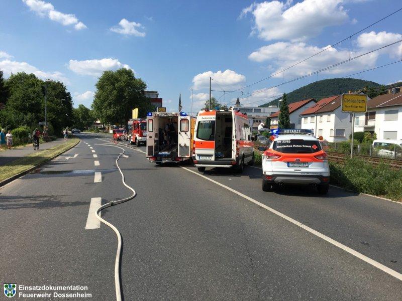 Hilfeleistung vom 01.06.2017     Feuerwehr Dossenheim (2017)