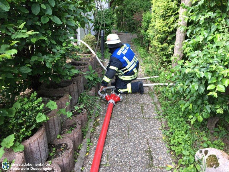 Brandeinsatz vom 11.05.2017  |  Feuerwehr Dossenheim (2017)