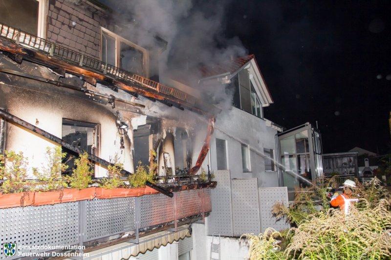 Brandeinsatz vom 18.10.2015  |  Feuerwehr Dossenheim (2015)