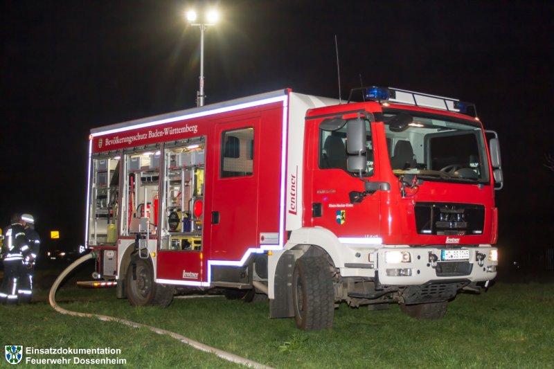 Brandeinsatz vom 13.11.2015  |  Feuerwehr Dossenheim (2015)